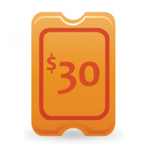 $30 Ticket