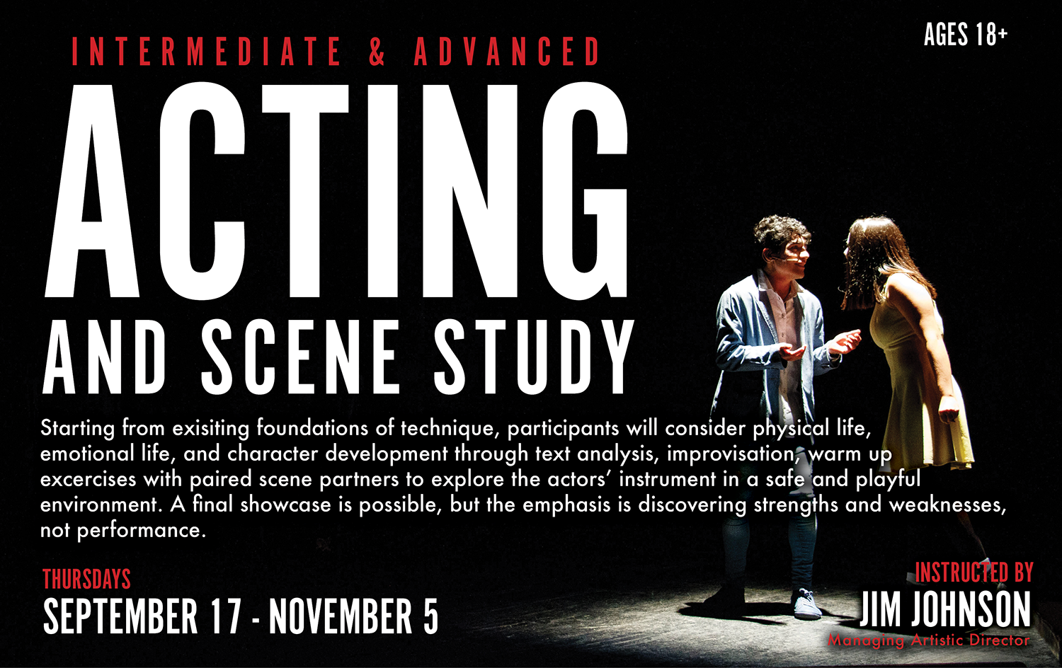 Acting and Scene Study - Marietta Center for the Arts